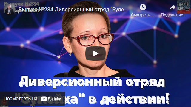 20210315-Выпуск №234 Диверсионный отряд -Зулейха- в действии!-scr1