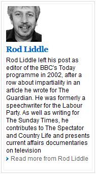 Rod Liddle~About