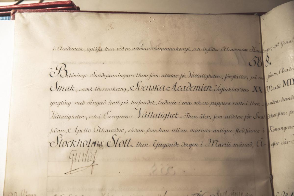 Akademiens arkiv-pic1~arkivhandlingar_gustaf_iii_2_p2a2042