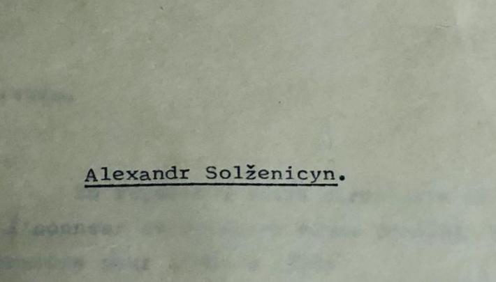 Akademiens arkiv-pic3-Solzenicyn~img_3104