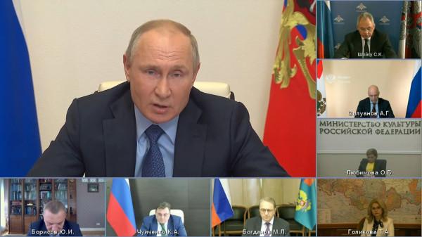 20210520-Заседание Российского организационного комитета «Победа» - Президент России-pic01