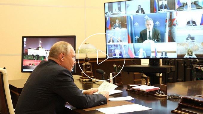 20210520-Заседание Российского организационного комитета «Победа» - Президент России-scr1