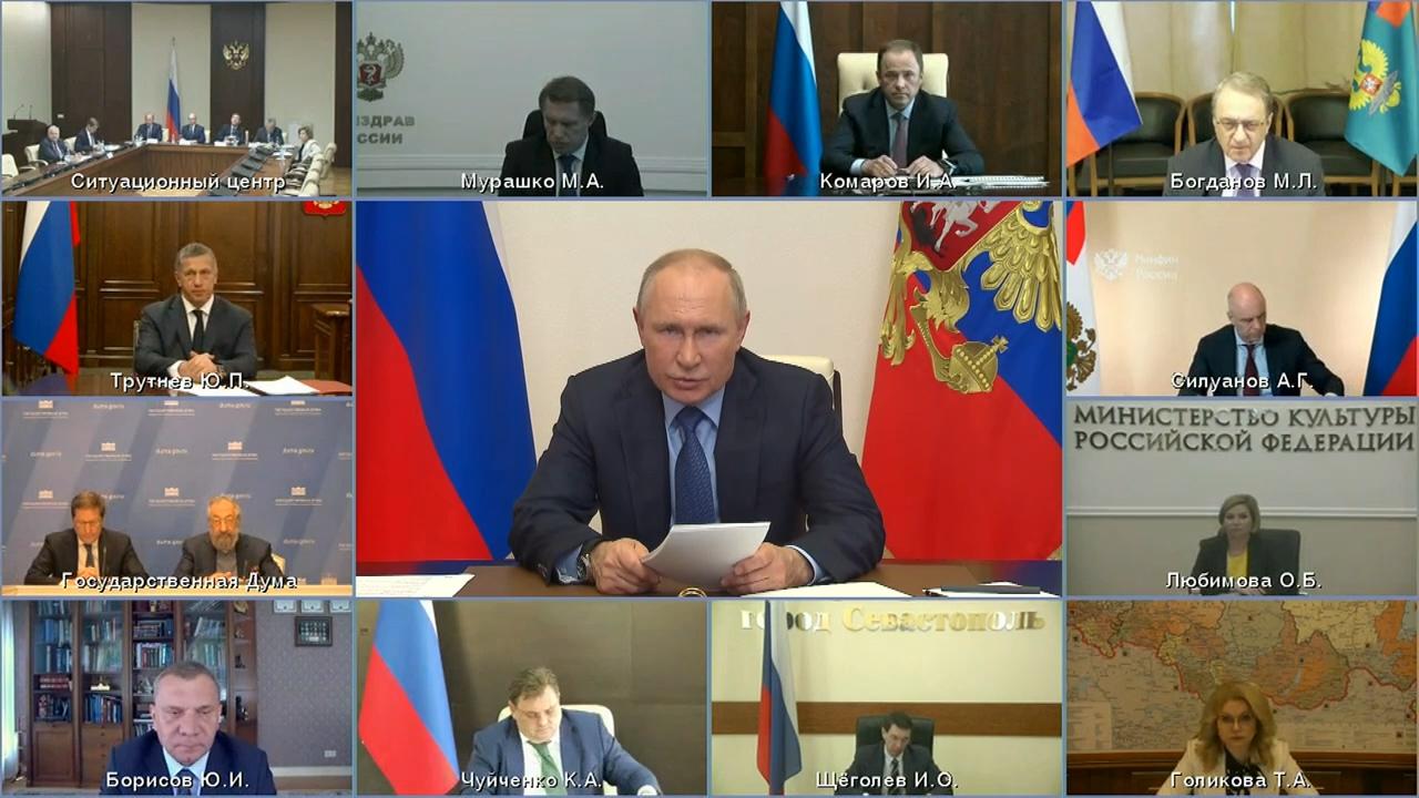 20210520-Заседание Российского организационного комитета «Победа» - Президент России-pic12