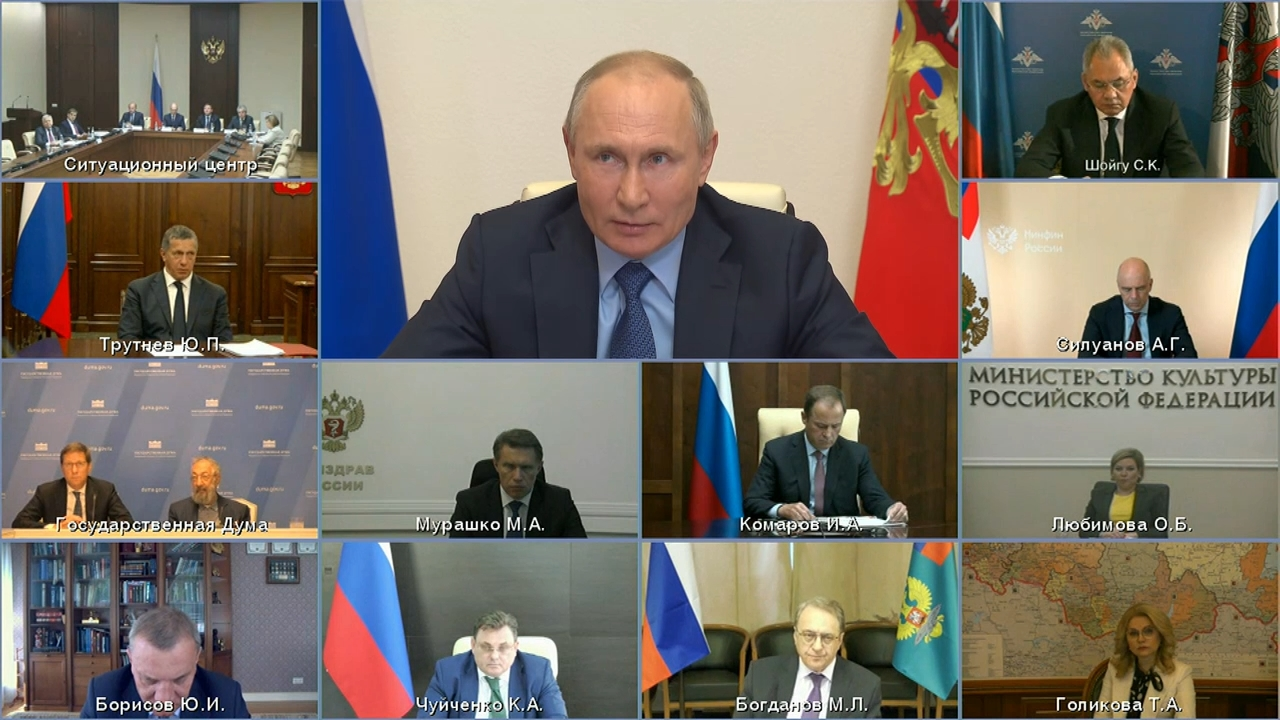 20210520-Заседание Российского организационного комитета «Победа» - Президент России-pic55