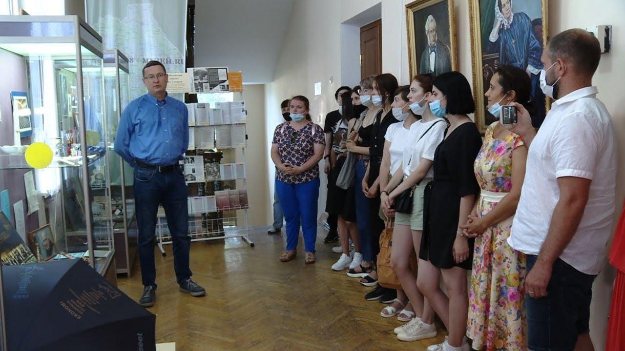 20210625-Экспозицию «Нобелистика и Международное движение на Тамбовщине» открыли в Краеведческом музее-pic1