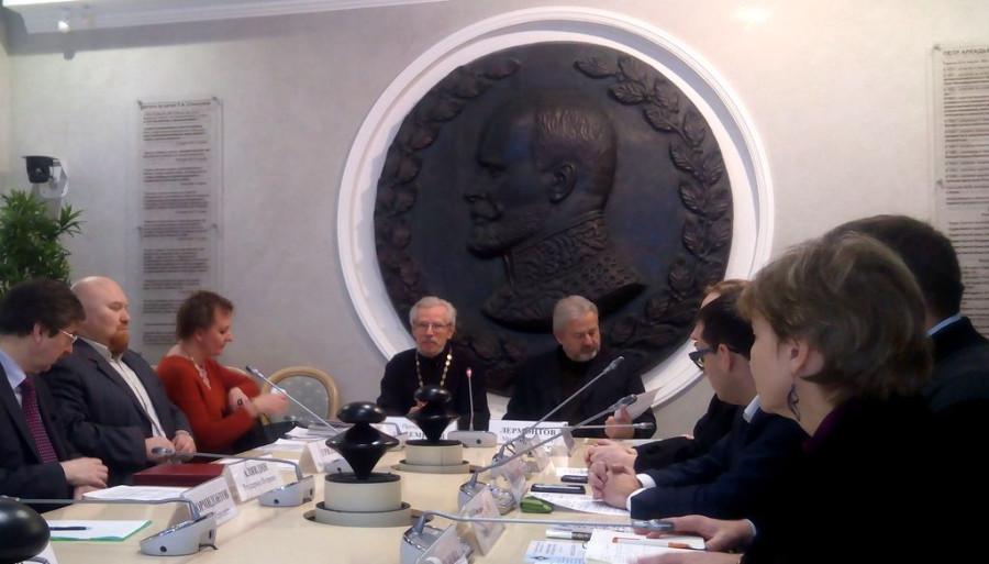 20160201_16-48-Слушания по войковскому вопросу в рамках Рождественских чтений. Второй слева: Филипп Грилль