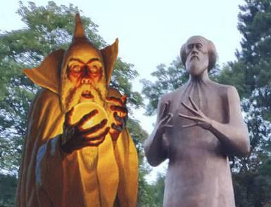 20180906-Не мышонок не лягушка.В Кисловодске поставили странный памятник Солженицыну-pic1