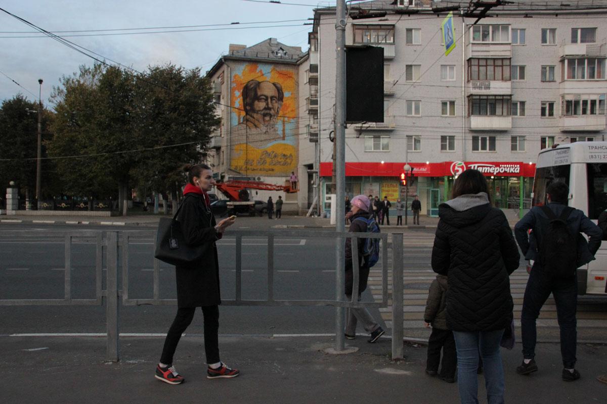 20181009-На стене дома в Твери появилось граффити с Солженицыным-pic3