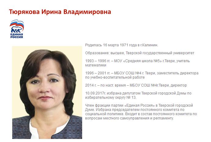 4-Тюрякова Ирина Владимировна