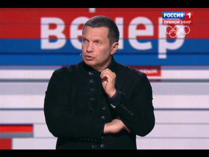 Вечер с Владимиром Соловьевым _ Эфир от 19.01.2014 _ Видео _ Russia.tv