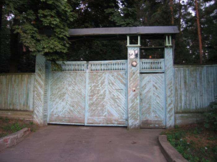 Ворота усадьбы А.И.Солженицына в Троице-Лыково (Москва)-pic2