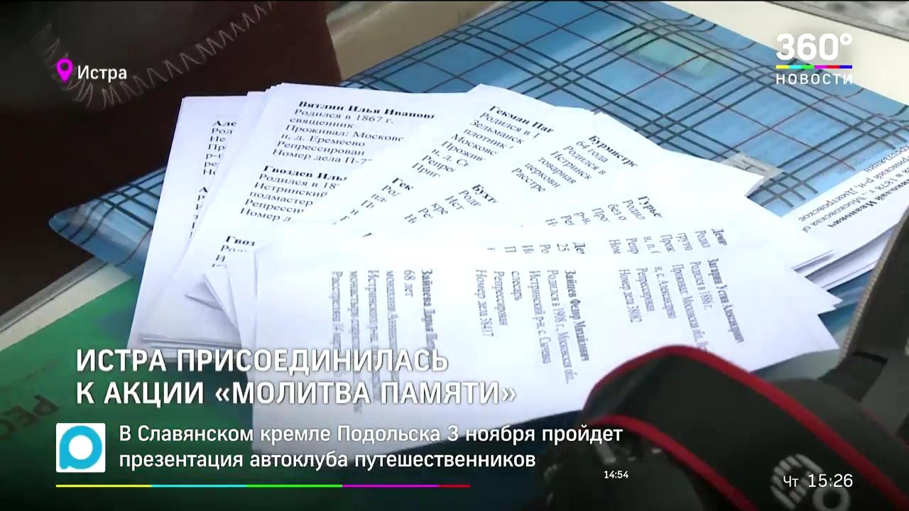 20181101-В Истре прошла акция памяти жертв репрессий-11