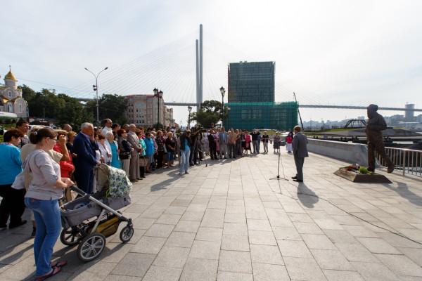 20150905-Памятник Александру Солженицыну открыли во Владивостоке-picB