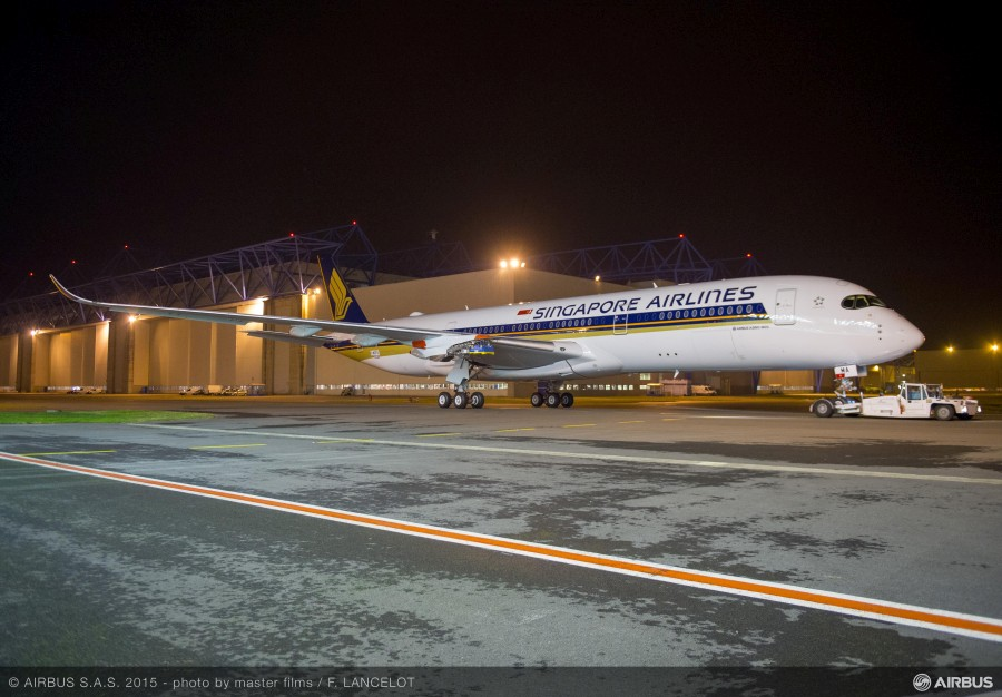 Airbus a350 900ulr singapore airlines vokinburt for Singapore airlines sito italiano