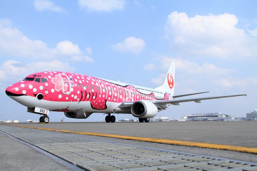 The Japan Airlines TransoushnEyr (Japan Transocean Air). Official sayt.2