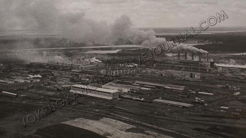 Уральский алюминиевый завод в годы войны.