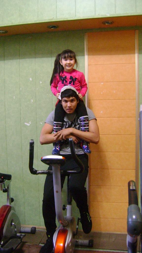 на велотренажере
