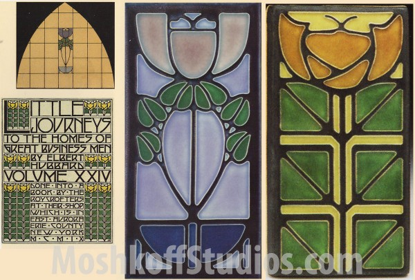 Архитектурная плитка ручной формовки: Motawi