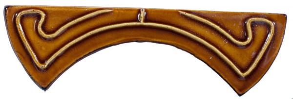 Нежная кракелюрная глазурь на плитке ручной работы