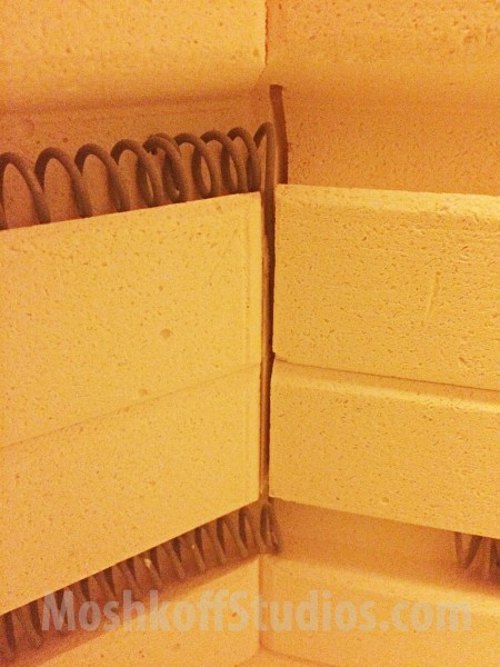Печь керамиста - замена спиралей самостоятельно