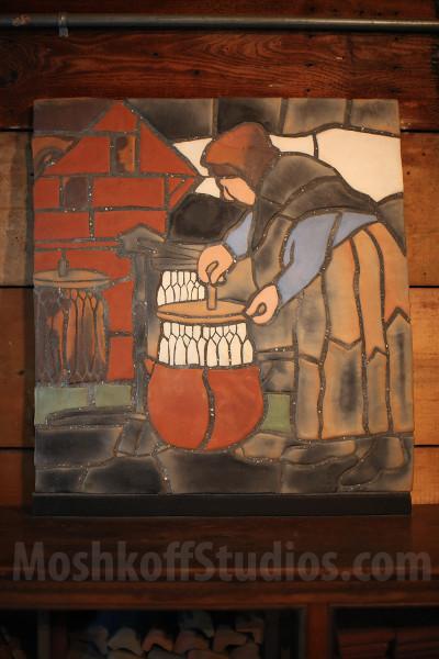 Moravian Pottery - историческая керамика ручной работы