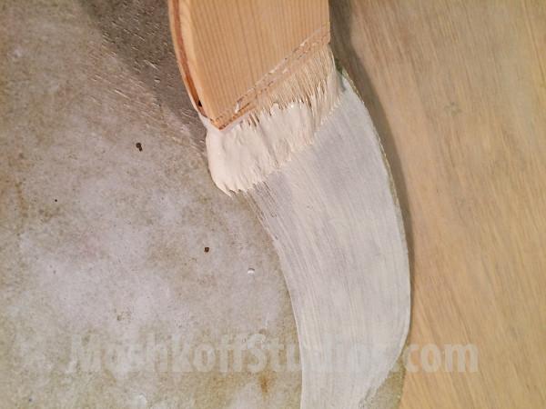 Kiln Wash - самостоятельное защитное покрытие лещадки от потёков глазури, обжиг плитки ручной работы