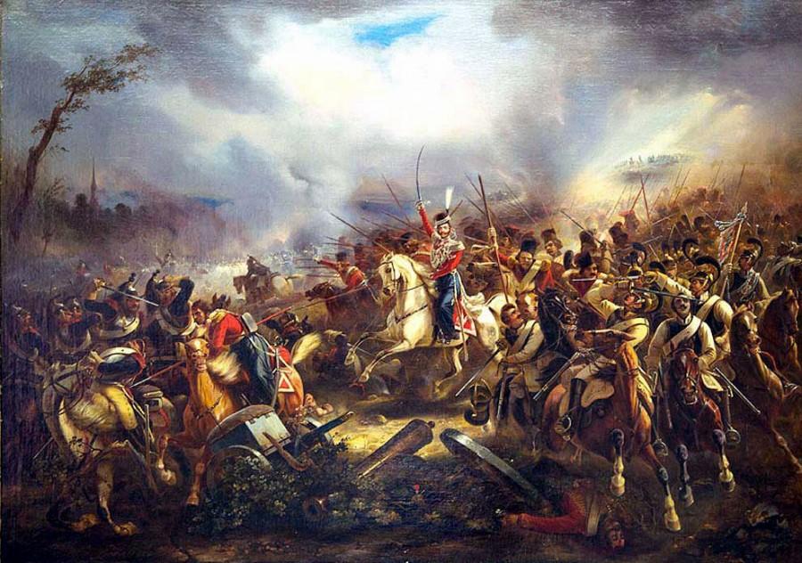 атака казачей лейб-гвардии
