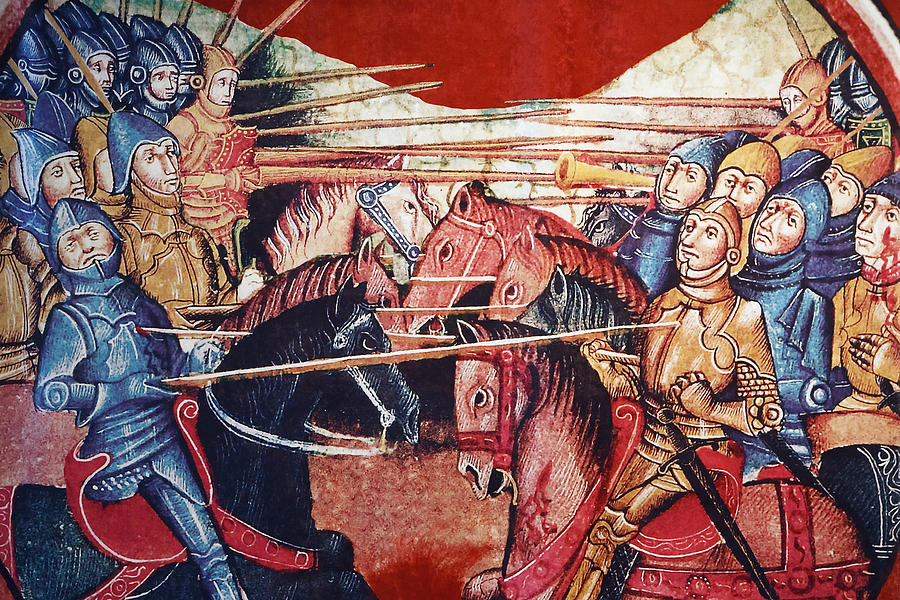 mounted-medieval-knights-in-battle-in-ken-welsh
