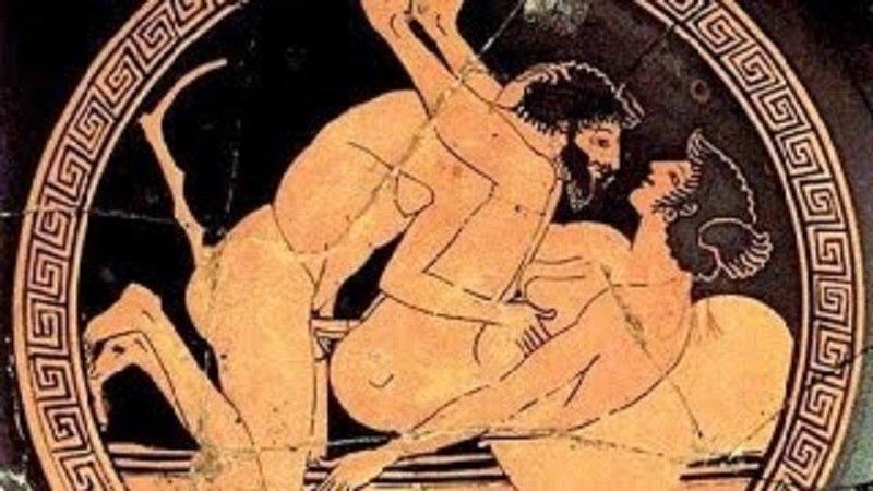 порно в древнем риме греции
