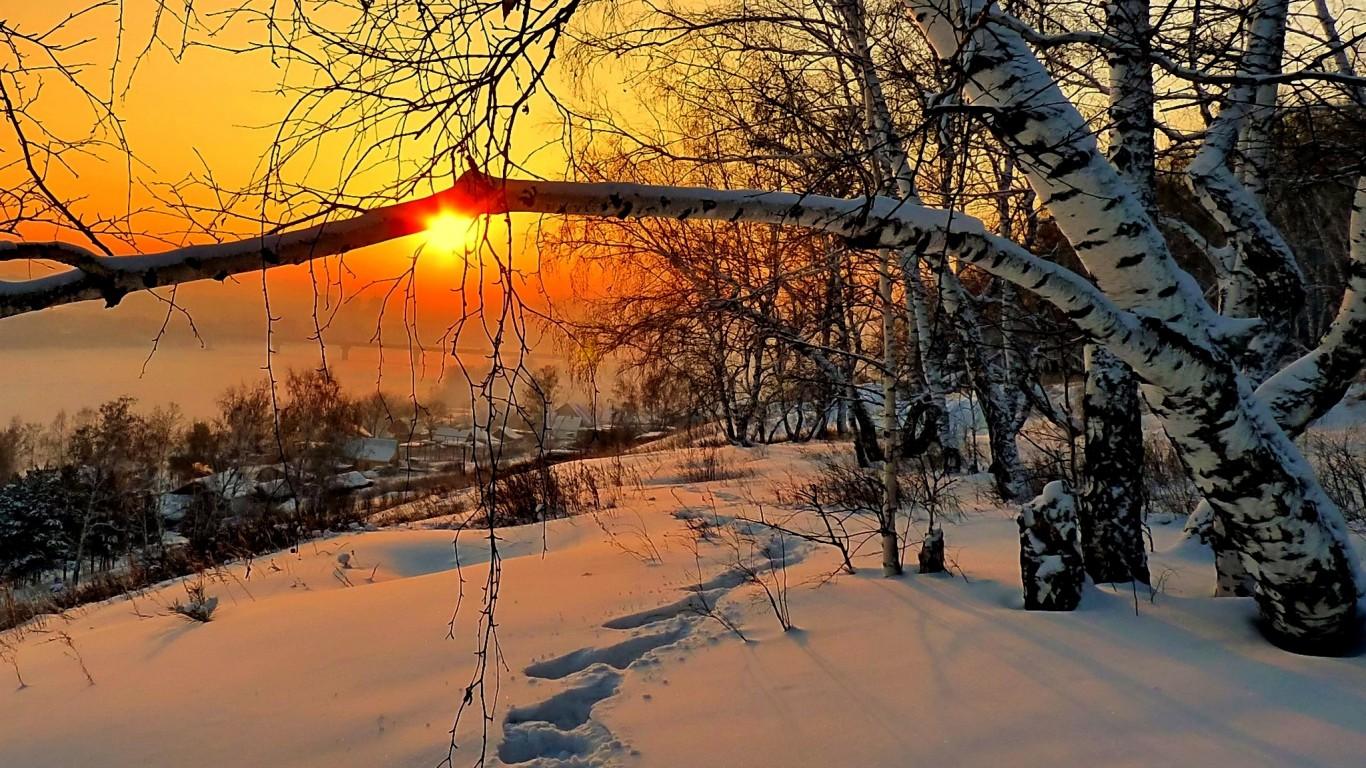 priroda-dom-zima-sneg-nebo-5352
