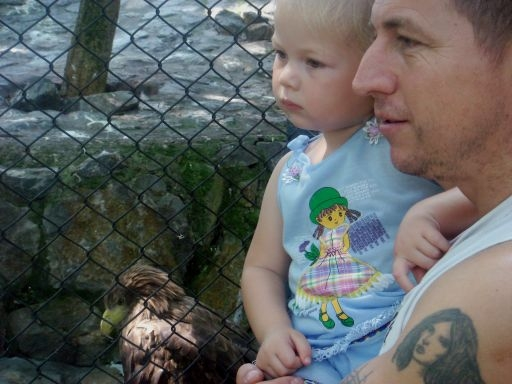 Наш тата - орёл