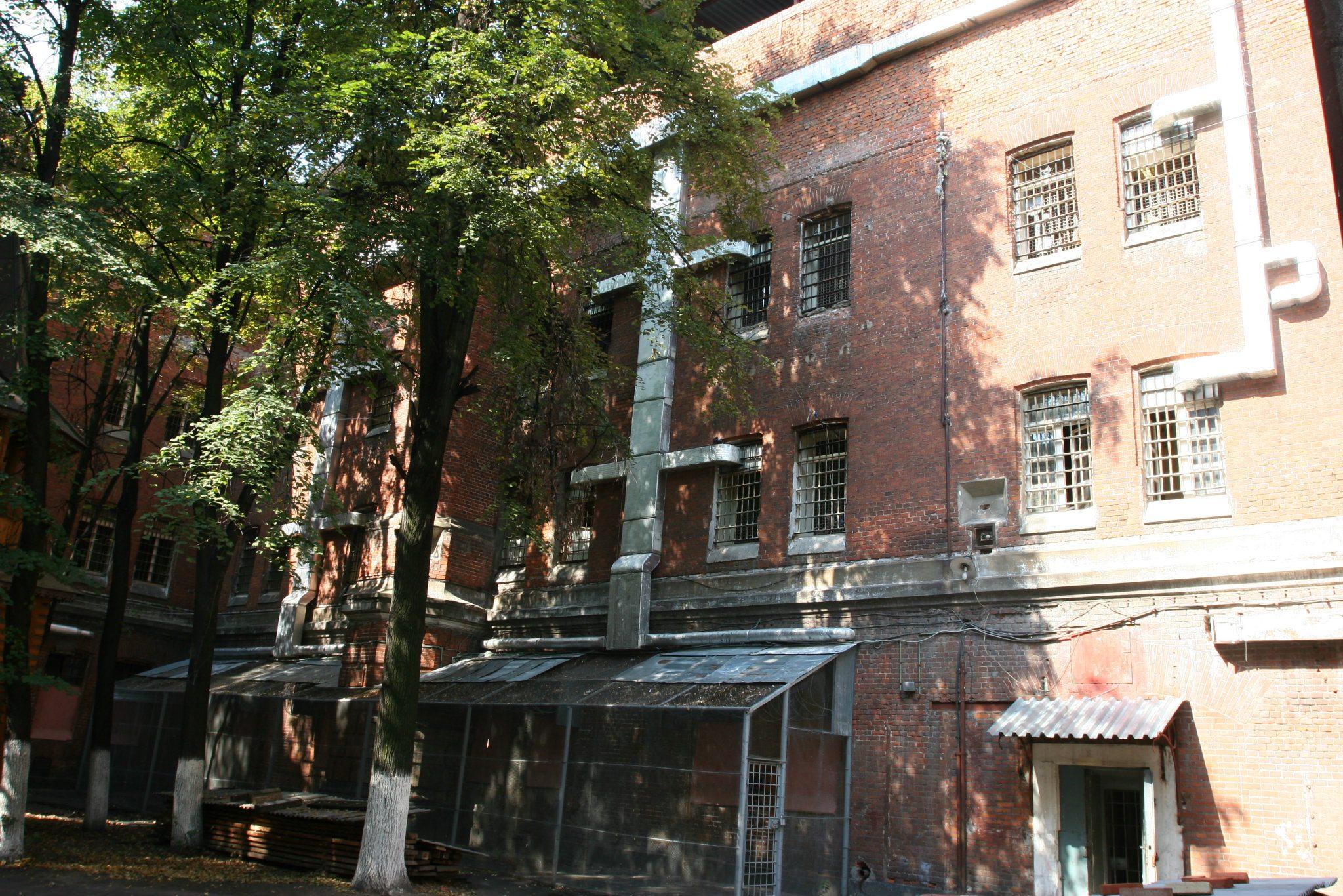 6-окна бывшего 6-го коридора смертников Бутырского изолятора
