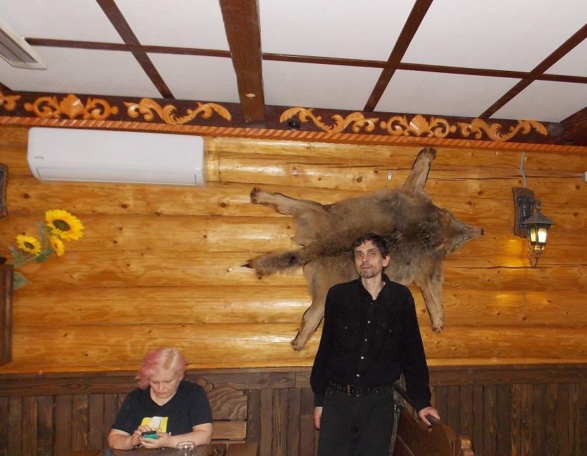 Светлана Пенкина и Андрей Травин в ресторане Славянский