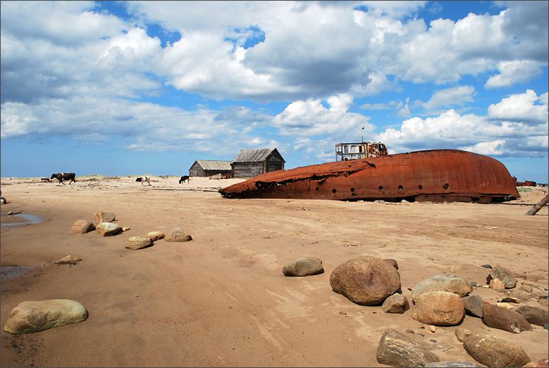 Белое море, летние Соловки