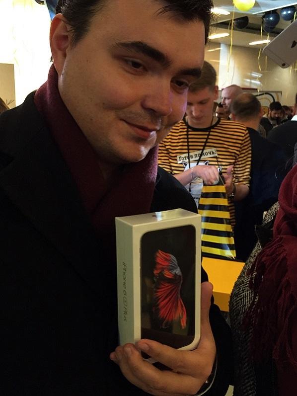 московский старт продаж iPhone 6s и 6s+