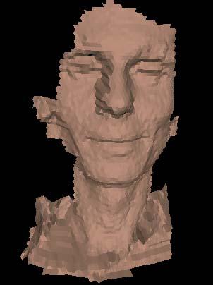 Андрей Травин. Лицо оцифровано по технологии  A4vision