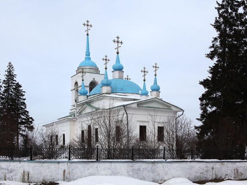 Церковь Иконы Казанской Божьей Матери в Нижнем Уфалее