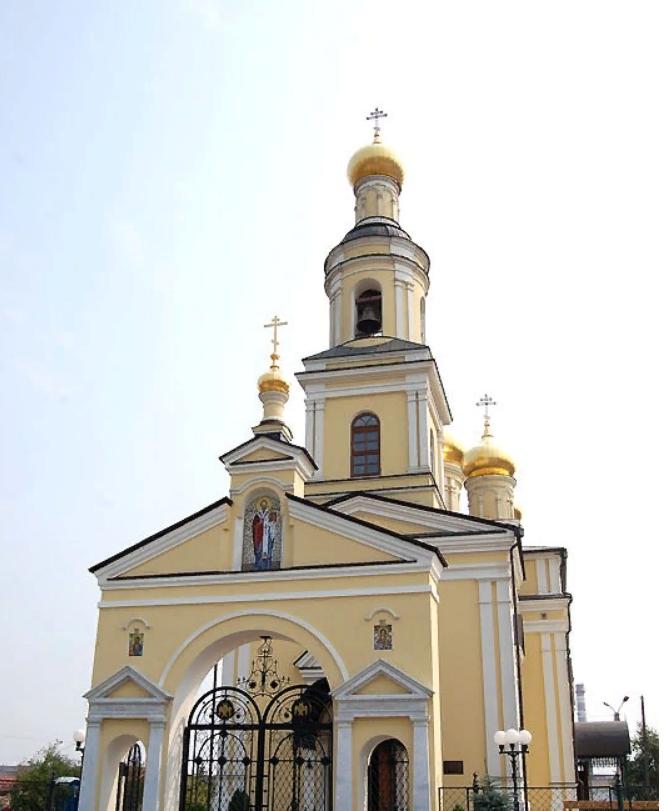 Николаевский храм в Кыштыме