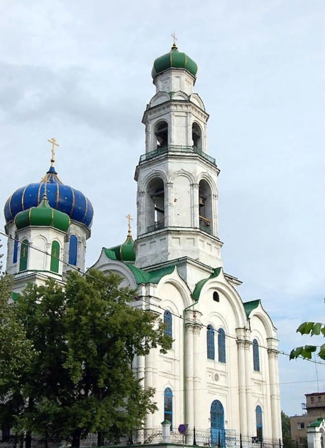 Храм во имя Святителя Николая в Нижнем Кыштыме