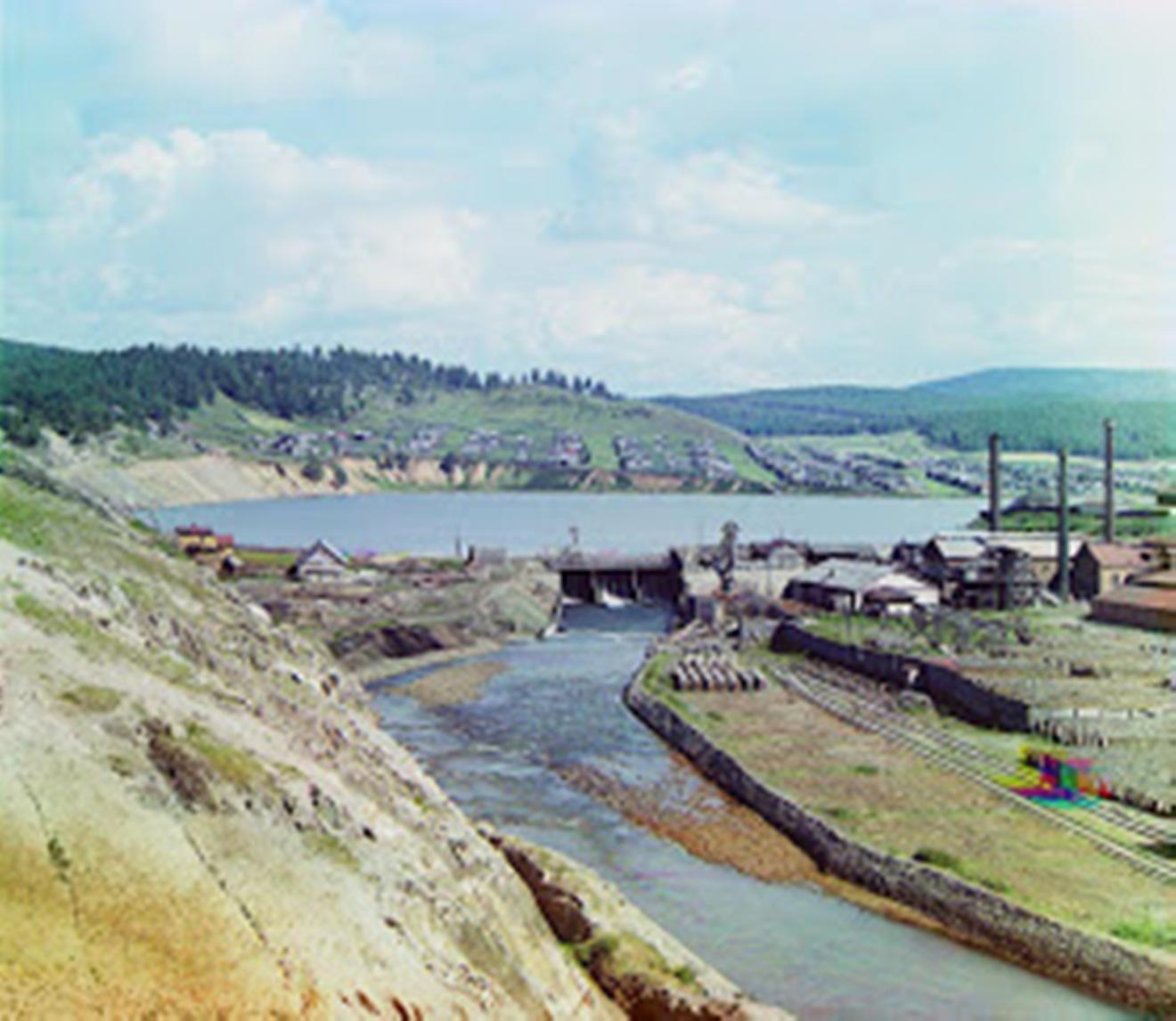 Плотина Каслинского завода