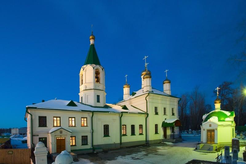 Храм Успения Пресвятой Богородицы в Березовском заводе