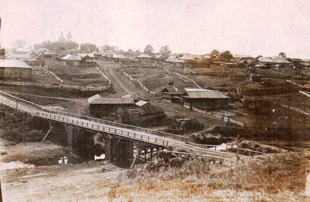 село Глинское в начале прошлого века.