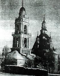 Николаевский храм в селе Глинском