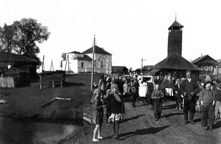 Село Арамашевское в советские годы