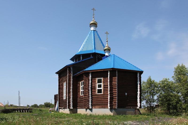 Село Щелкун. Церковь Иконы Божьей Матери Знамение Новая.