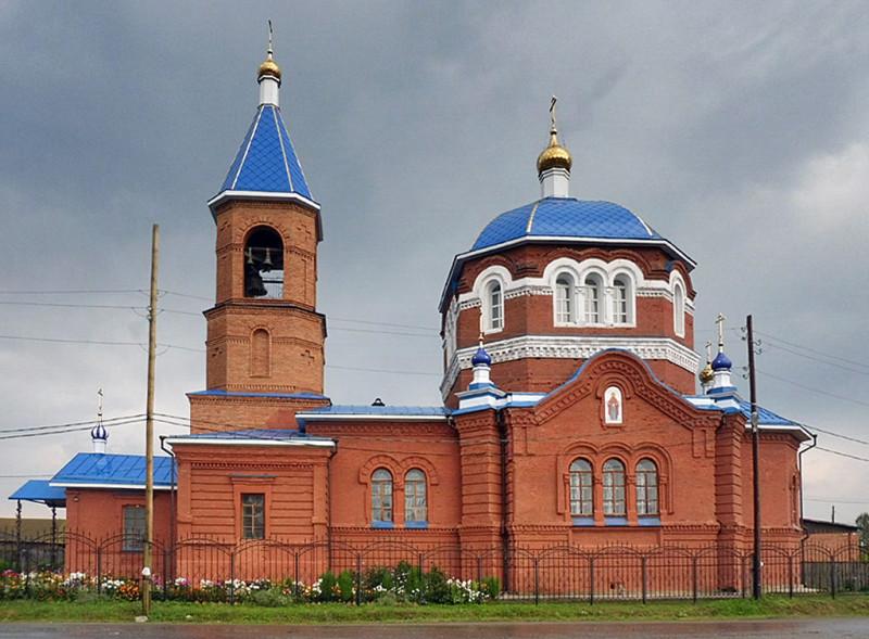 Село Абрамово. Церковь Введения в храм Пресвятой Богородицы.