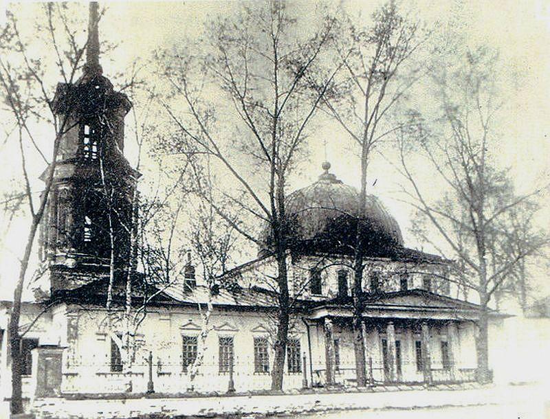 Николаевская церковь Верх-Нейвинского завода