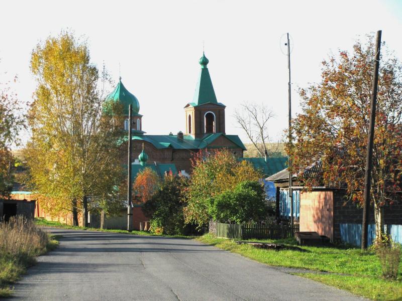 Свято-Духовская церковь в селе Тарасково