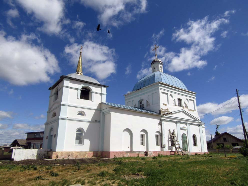 Храм Иоанна Предтечи в селе Кочневском