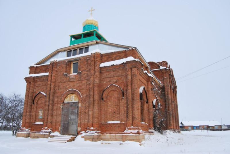 Свято-Троицкая  церковь в Хромцово